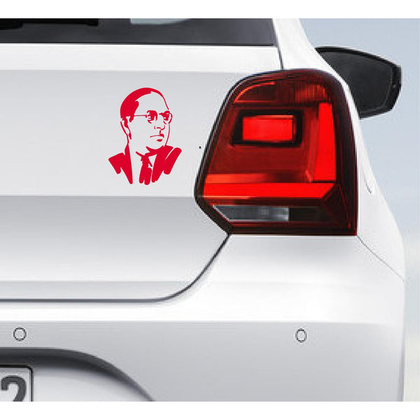 Dr. Ambedkar Car Bumper Decal