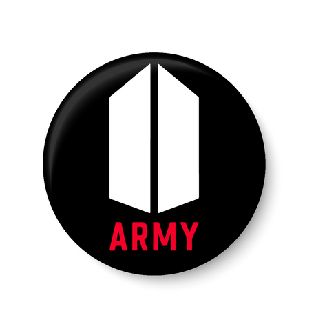 ARMY Pin Badge,ARMY