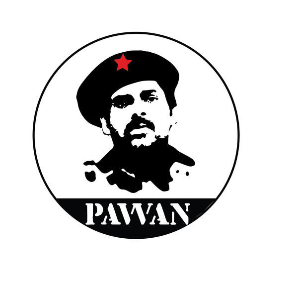 Pawan Kalyan Bike Decal, pawan kalayan, bike decal