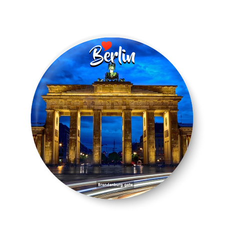 Love Berlin, Berlin Fridge Magnet, Berlin