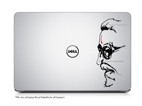 Balasaheb Thackeray I Bal Thackeray I Laptop Decal