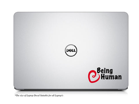 Being Human-A Laptop Decal for Salman Khan Fan