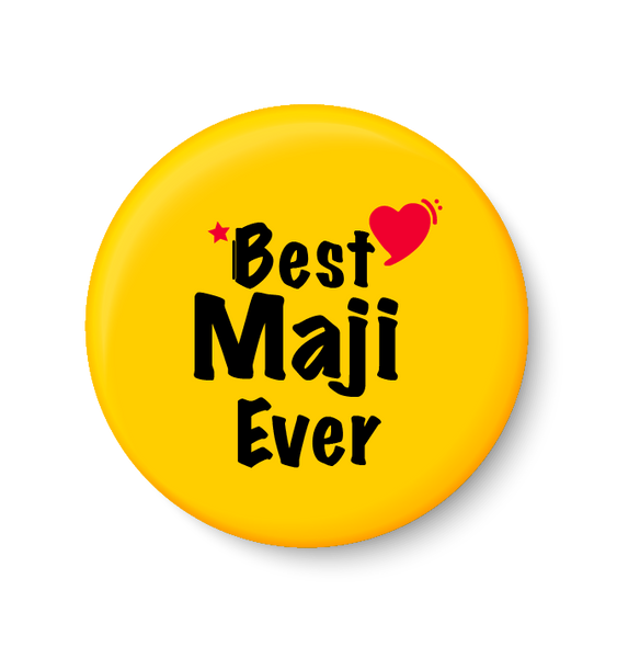 Best MAJI  Ever I Mothers Day Gift Fridge Magnet