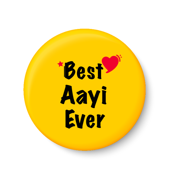 Best AAYI Ever I Mothers Day Gift Fridge Magnet