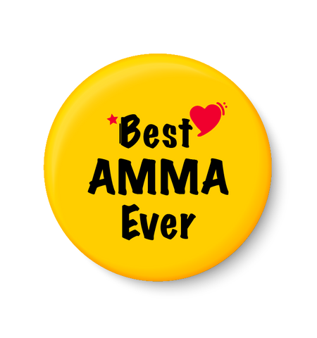 Best AMMA Ever I Mothers Day Gift Fridge Magnet