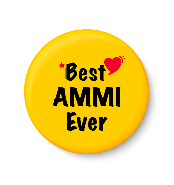 Best AMMI  Ever I Mothers Day Gift Fridge Magnet
