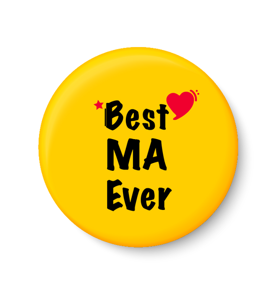 Best MA  Ever I Mothers Day Gift Fridge Magnet