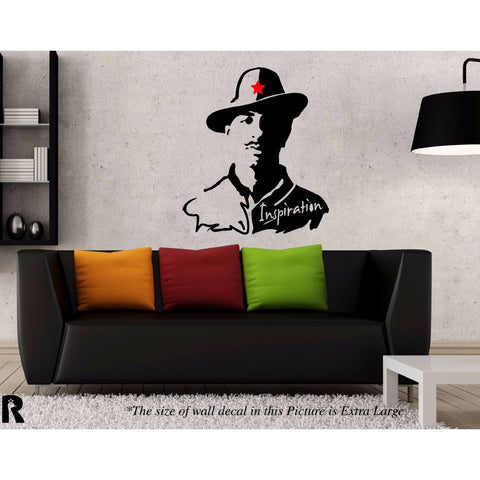 Revolutionary Bhagat Singh ,Revolutionary Bhagat Singh W Sticker,Revolutionary Bhagat Singh W Wall Sticker,Revolutionary Bhagat Singh W Wall Decal,Revolutionary Bhagat Singh W Decal