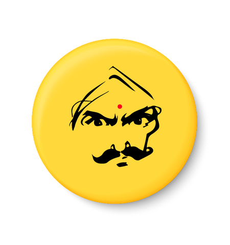 Angry Bhatathiyar Pin-Badge