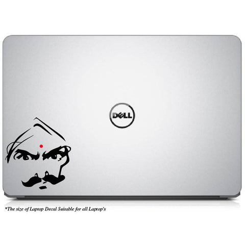 Angry Bharathiyar Laptop Decal