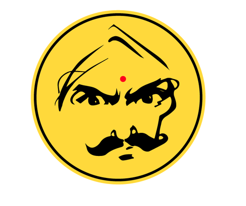 Bharathiyar, Bike Decal
