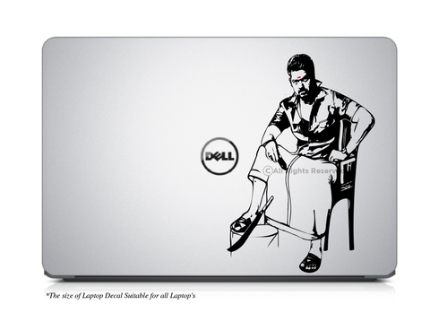 Bikil Laptop Decal, Bikil Vijay Laptop Decal, Vijay