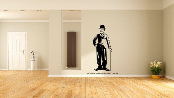 Charlie Chaplin, Charlie Chaplin Wall Decal, Wall Decal