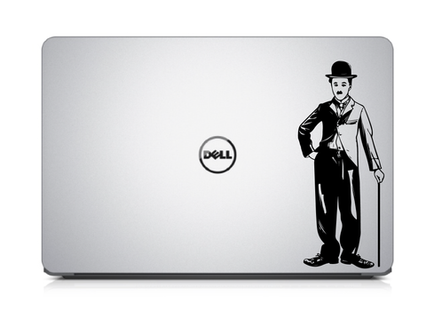 Charlie Chaplin Laptop Decal, Laptop Decal