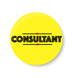 Consultant Office Pin Badge,Consultant