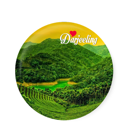 Love Darjeeling Fridge Magnet