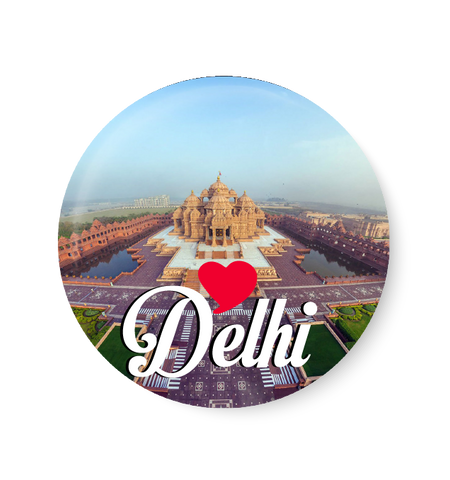 Love Delhi Fridge Magnet