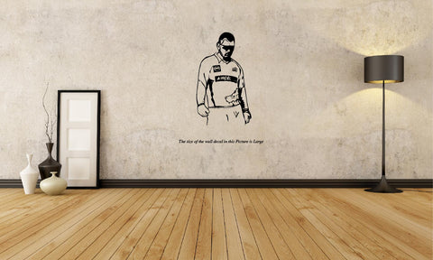 Mahindra Singh Dhoni ,	Mahindra Singh Dhoni-  Sticker,Mahindra Singh Dhoni-  Wall Sticker,Mahindra Singh Dhoni-  Wall Decal,Mahindra Singh Dhoni-  Decal