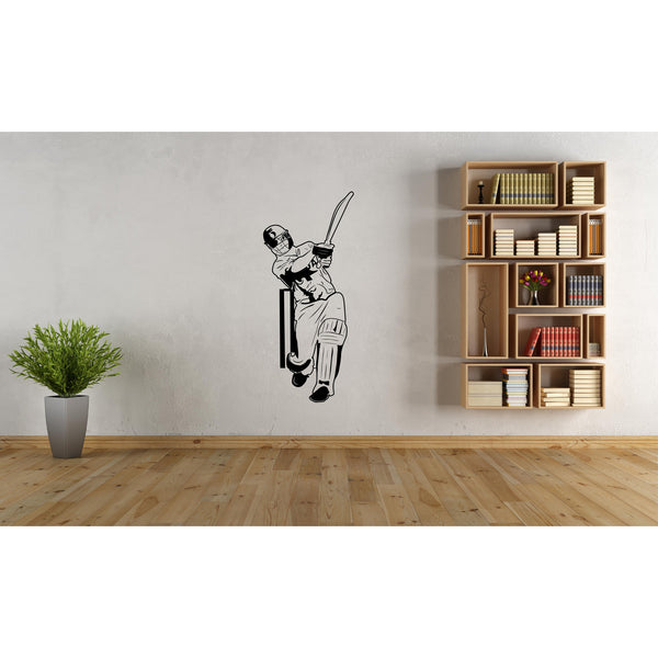 M S Dhoni Unforgettable WC Six Decal,Dhoni,Dhoni wall Sticker,Dhoni sticker,Dhoni Poster