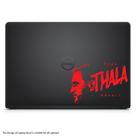 Enga THALA Dhoni !- Laptop/Mac Book Decal