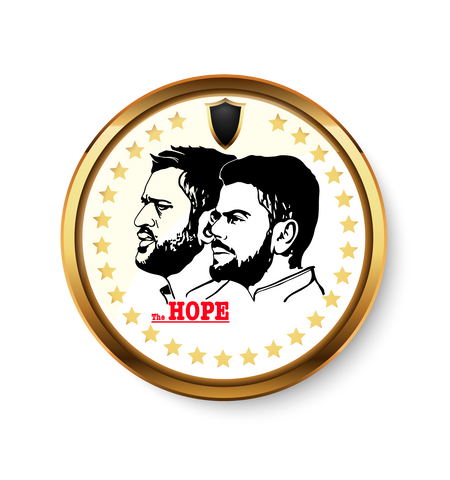 Dhoni & Kholi Fridge Magnet