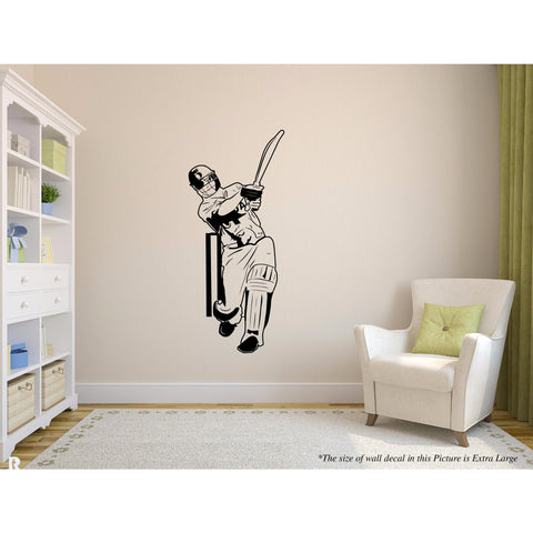 Dhoni, Dhoni Sticker, Dhoni Wall Sticker, Dhoni Wall Decal, Dhoni Decal