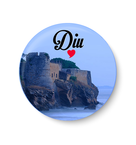 Love Diu Magnet,Love Diu Fridge Magnet,Diu Magnet