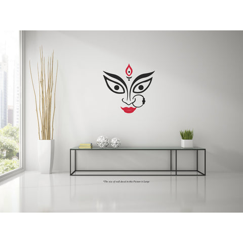 Mother Durga W,Mother Durga W Sticker,Mother Durga W Wall Sticker,Mother Durga W Wall Decal,Mother Durga W Decal