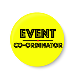 Event Co-ordinator I Office Pin Badge