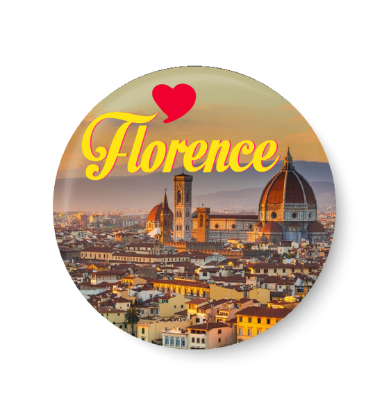 Love Florence Fridge Magnet
