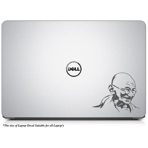 Mahatma Gandhiji Inspirational Laptop Decal