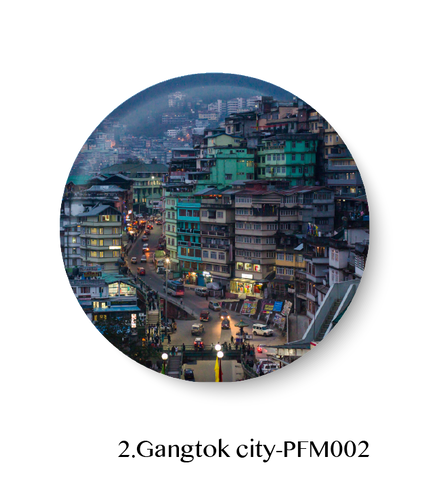 Love Gangtok City Fridge Magnet