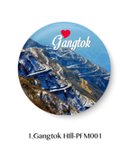 Love Gangtok Hill Fridge Magnet
