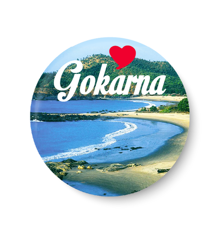 Love Gokarna Fridge Magnet
