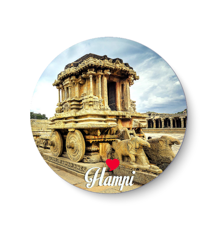 Love Hampi Fridge Magnet