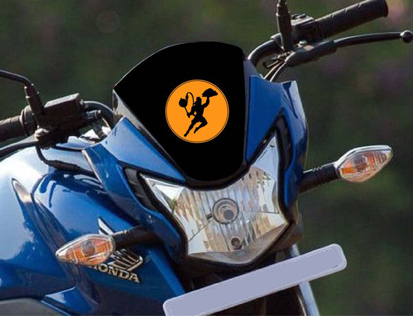Lord Hanuman Bike Decal