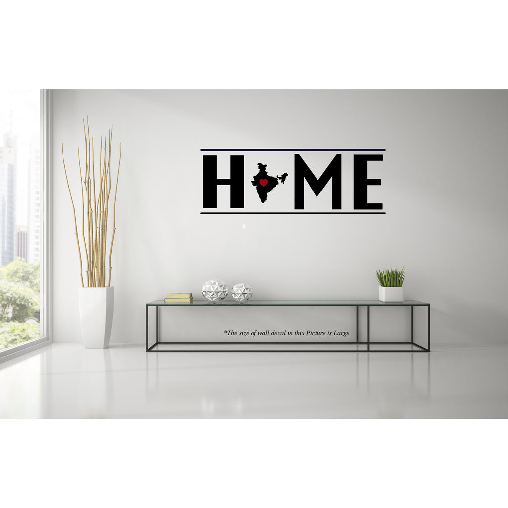 India My Home Wall Decal