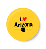 Arizona PinBadge,International PinBadge