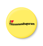 Thiruvananthapuram Magnet,I Love Thiruvananthapuram Fridge Magnet,Thiruvananthapuram Fridge Magnet