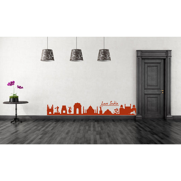 Love India Wall Decal