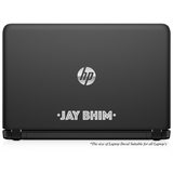 Jay Bhim Greeting Quote Laptop Decal