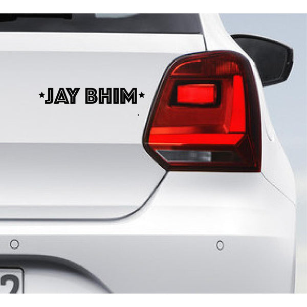 Jay Bhim,Jay Bhim Car Decal,Jay Bhim Car Sticker,Jay Bhim Car Decal,Jay Bhim Car Sticker,Jay Bhim Quote,Quote Sticker
