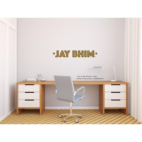 Jay bhim,Jay Bhim,Jay Bhim Quote Wall Sticker,Jay Bhim Sticker,Jay Bhim Wall Decal,Quote Sticker