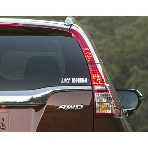 Jaybhim, Jaybhim Car Decal,Car Decal