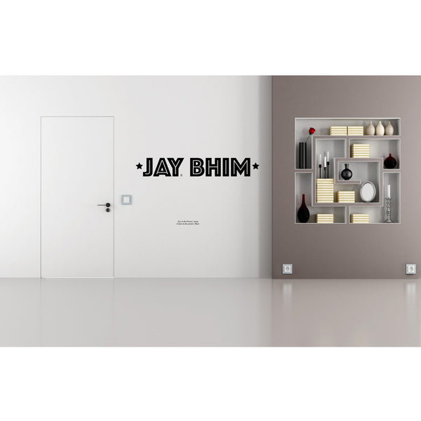 Jay Bhim Greeting Quote Wall Decal
