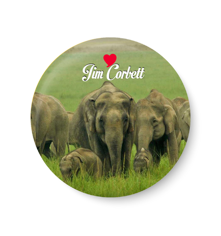 Love Jim Corbett Magnet,Love Jim Corbett Fridge Magnet,Jim Corbett Magnet