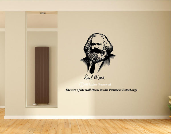 Karl Marx , Wall Decal