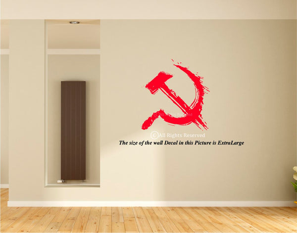 I am Communist ,Communist Party - Marxist Wall Decal,