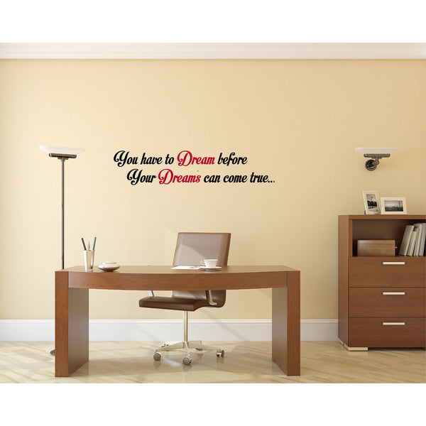 Dr. APJ Abdul Kalam Quote Wall Decal
