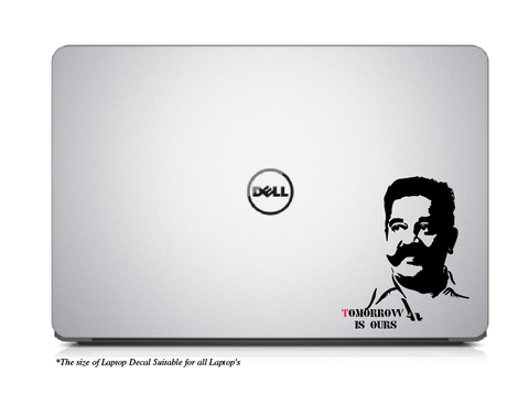 Tomorrow is ours-KamalHassan Laptop/Mac Book Decal